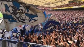 09.04.2017 Stuttgart vs KSC  Choreo&Pyro
