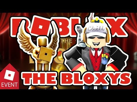 Roblox 5th Annual Bloxy Awards 2018 Let's Watch the Event Together LIVE Bloxys Bingo Game!