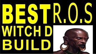 Witch Doctor Build RoS (Torment 6, 3 if Beginner gear) ★PiranBatJump Build  ★HIGHEST DMG !!!