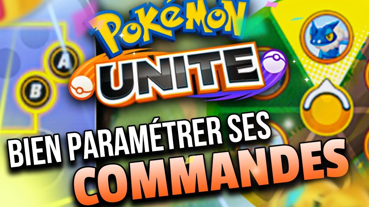 BIEN PARAMÉTRER les COMMANDES de POKEMON UNITE pour GAGNER !
