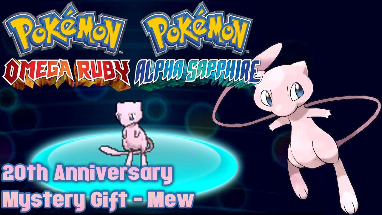 pokemon mystery gift codes oras