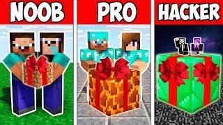 Minecraft NOOB vs PRO vs HACKER : FAMILY BABY PRESENT in Minecraft ! Animation