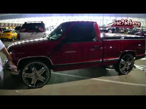 Chevy Silverado Truck On 26 Rims
