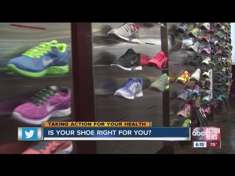 How to tell if your running or walking shoe is right for you