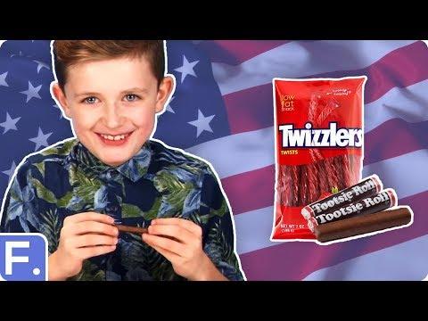 Irish Kids Taste Test American Snacks