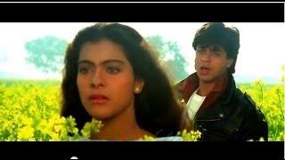 Tujhe Dekha To - Kumar Sanu - Shahrukh Khan - Lata Mangeshkar - Kajol - DDLJ