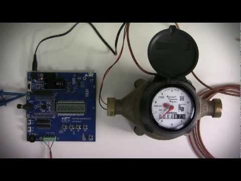 C8051f96x And Si102x 3x Autonomous Pulse Counter For Water