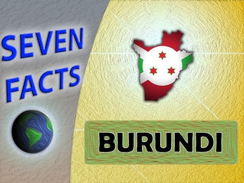 7 Facts about Burundi