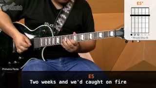 Misery Business - Paramore (aula de guitarra)