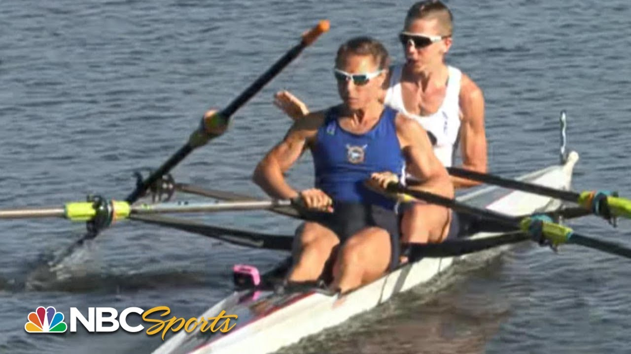 WILD COMEBACK: rower loses oar, comes back to win Olympic Trials | NBC Sports