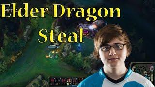 Sneaky Lucian W Elder Dragon Steal