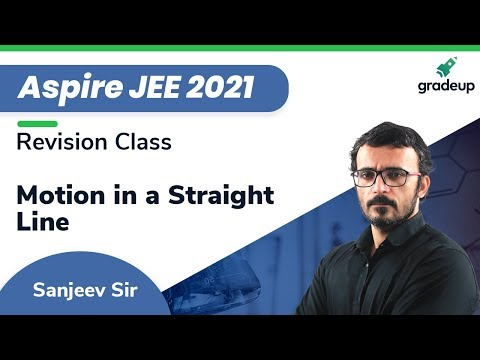 Aspire JEE 2021 | Motion In a Straight Line | Revision Class | Physics | 11th Topics | Gradeup