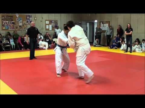 Dojo exchange, Asahi judo club, March 7, 2015 part 1