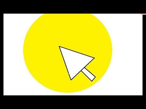 Как сделать вокруг курсора мыши жёлтый круг