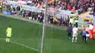 Tifoserie ospiti a Genova - i leccesi - Genoa Lecce 1-0