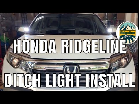 How To Honda Ridgeline Ditch Light Bracket Install NO-LO Designs No Drilling Connected To Hood Bolts