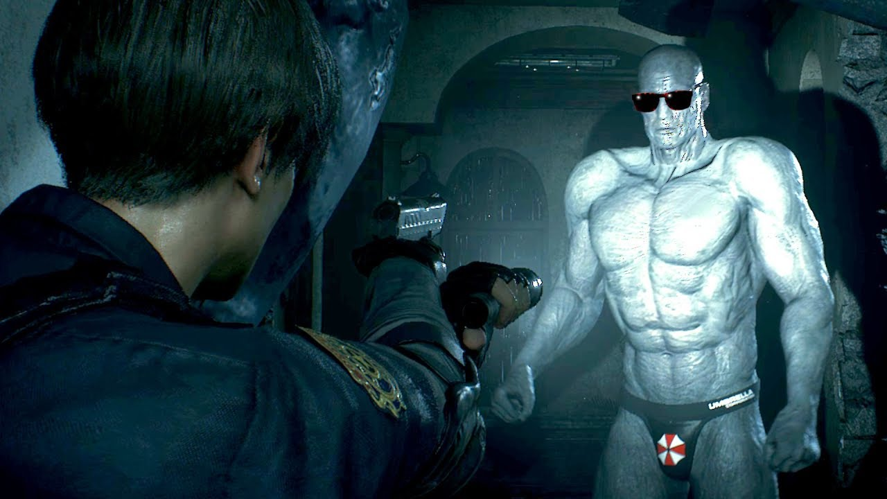 These Are Resident Evil 2 S Most Hilarious Mods Game Informer