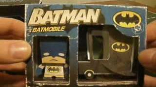 Papercraft Boxzet Papercraft Tron and Batman