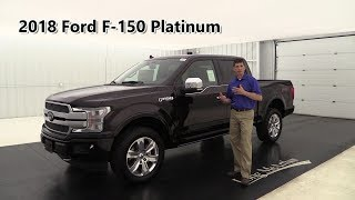 2018 FORD F-150 PLATINUM OVERVIEW: STANDARD & OPTIONAL EQUIPMENT