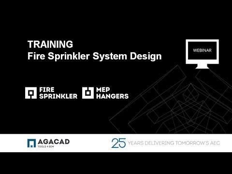 Fire Sprinkler System Design in Revit (ISO, AS Standards)