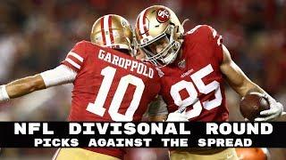 NFL Divisional Round Vegas Spread Picks + Bonus Picks (Betting Advice)