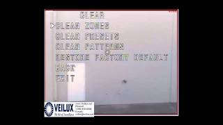 How to do a factory restore or reset on a Veilux PTZ camera.