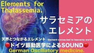 🔴ドイツ振動医学によるサラセミア編|Thalassemia by German Oscillatory Medicine.