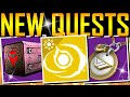 Destiny 2 - NEW QUESTS! Secret Tower Spy! Exotic Perk!