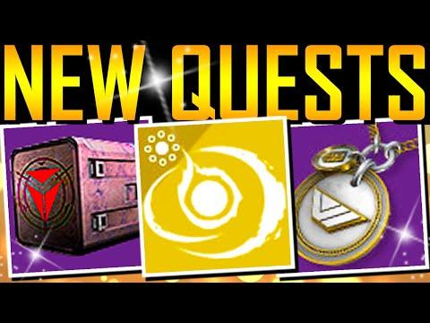 Destiny 2 - NEW QUESTS! Secret Tower Spy! Exotic Perk! thumbnail