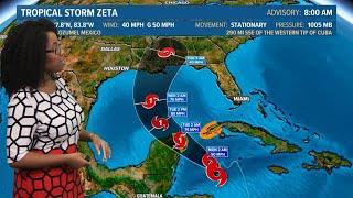 Tropics update: Tropical Storm Zeta forms, Gulf Coast once again on alert