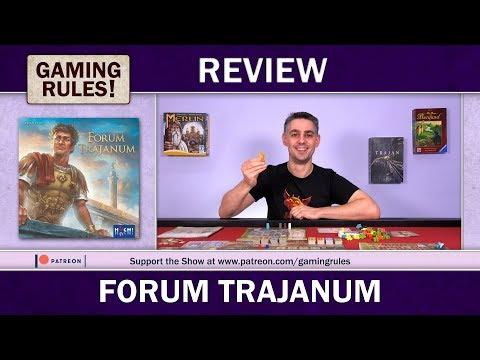 Forum Trajanum - A Gaming Rules! Review