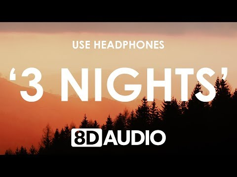 Dominic Fike - 3 Nights (8D AUDIO) 🎧 Mp3
