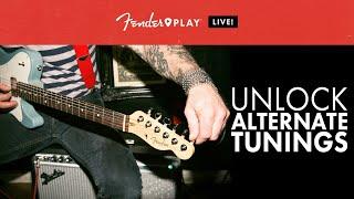 fender play live: unlock alternate tunings | fender play | fender