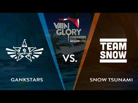SNOW Tsunami vs GankStars Cerberus - Group Stage | Vainglory Summer Championship Europe 2016