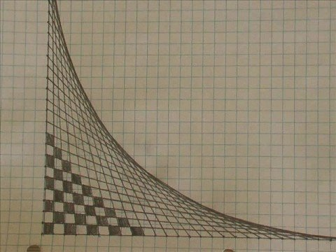 How To Make A 3 D Curved Ramp Using Only Straight Lines