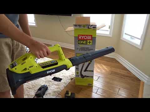 Repeat Ryobi One + Plus Weed Eater and Blower Combo by This
