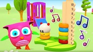 Детские песенки для самых маленьких. Совенок Хоп Хоп.