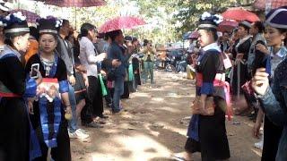 New Year Hmong Luang Prabang 'Boon Kin Chiang 2015 Luang Prabang