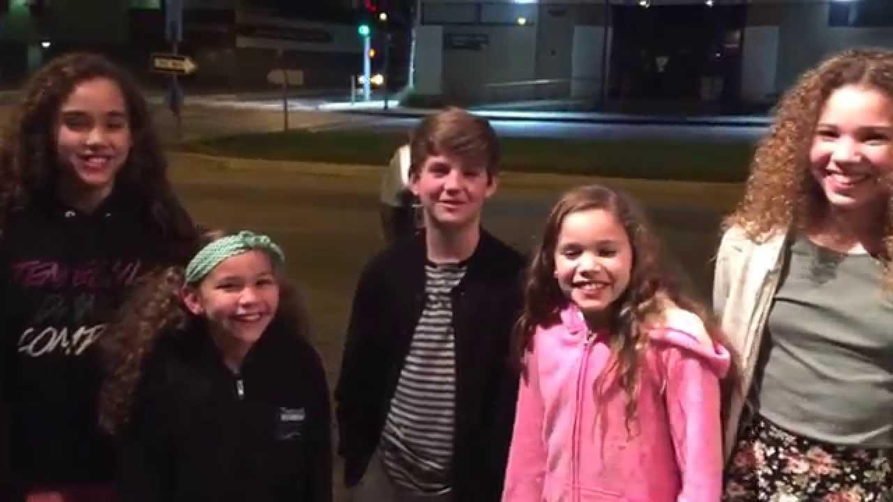 MattyBRaps & The Haschak Sisters - YouTube
