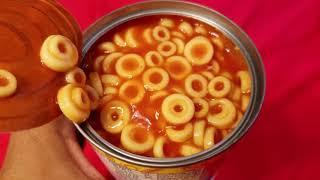lets eat Campbells SpaghettiOs