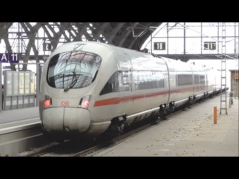 [1g] Berlin Central Station and Many German High-Speed Trains, 11/25/2015 ©mbmars01