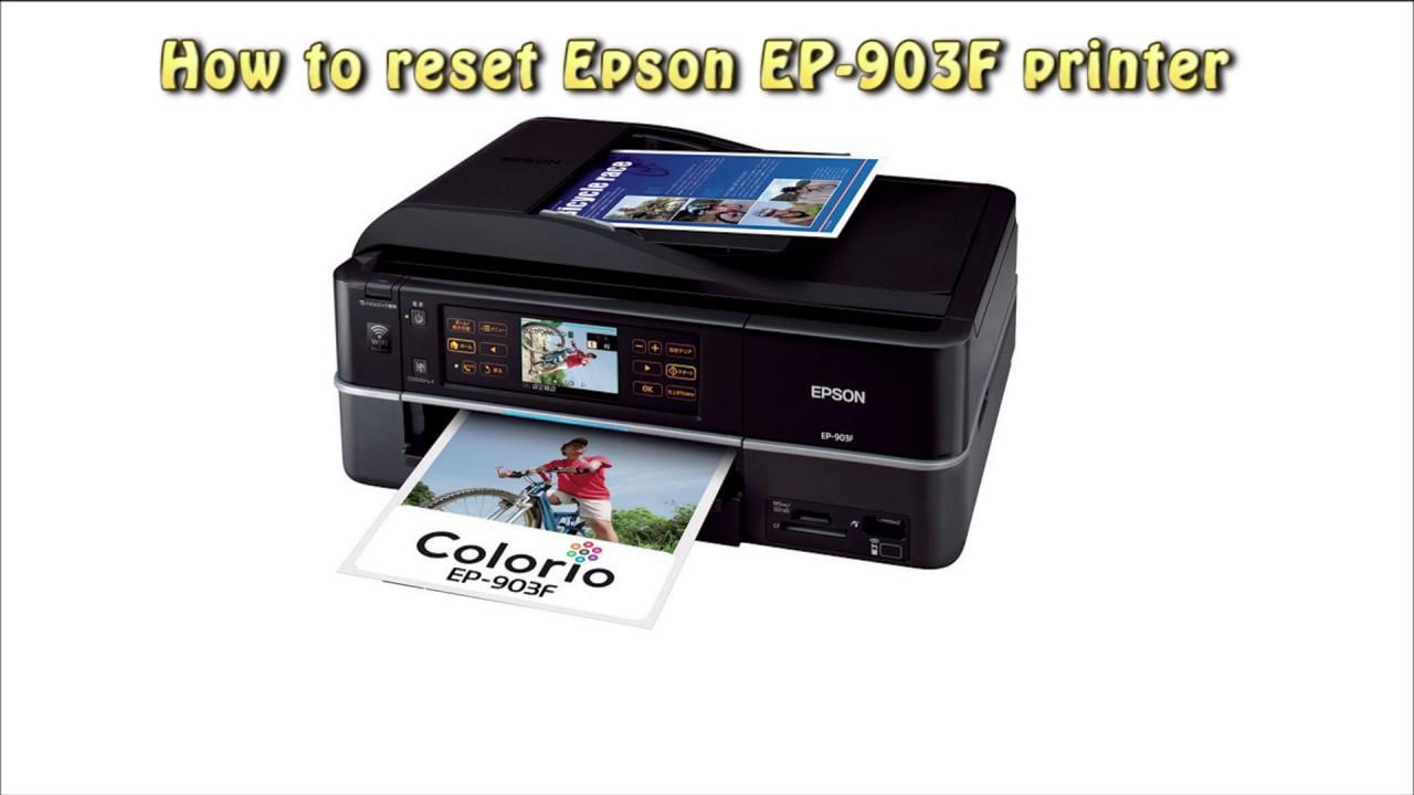 EPSON EP-903F DRIVERS
