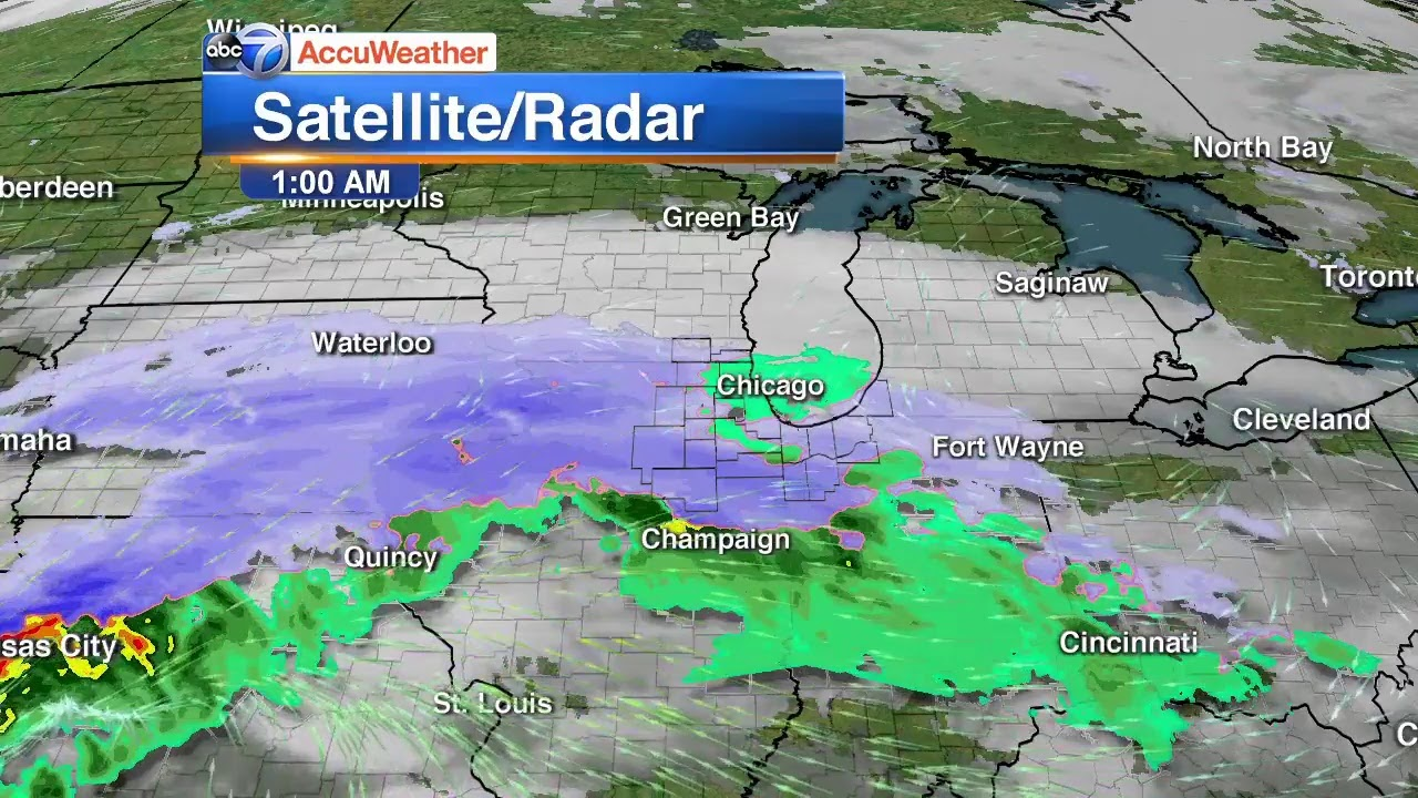 Chicago Weather: Up 14 inches of snow expected into Tuesday ...
