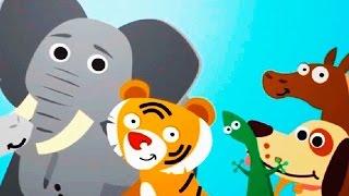 😺 Мультики для самых маленьких развивающие от 1 года до 3 лет - 🐶 Мультфильмы про животных