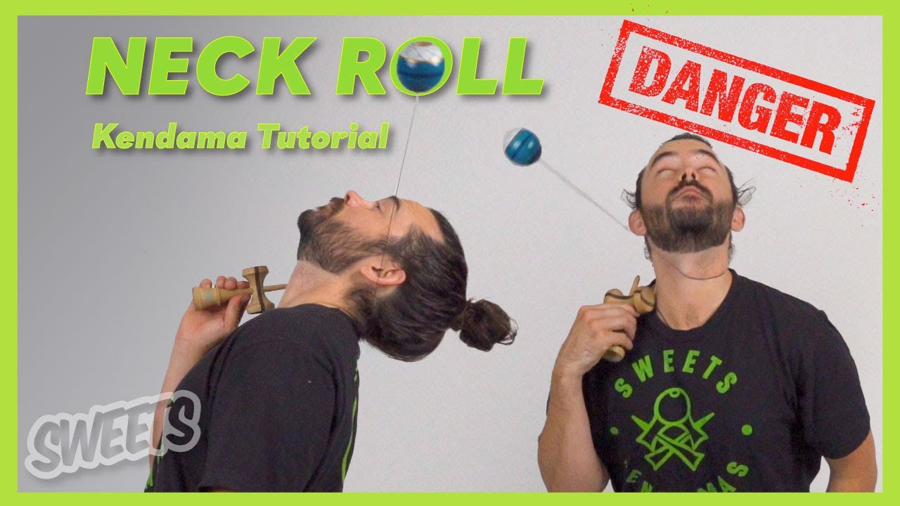 How to do the NECK ROLL - Kendama Trick Tutorial - Sweets Kendamas