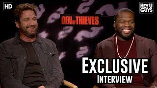 Gerard Butler & 50 Cent - Den of Thieves Exclusive Interview