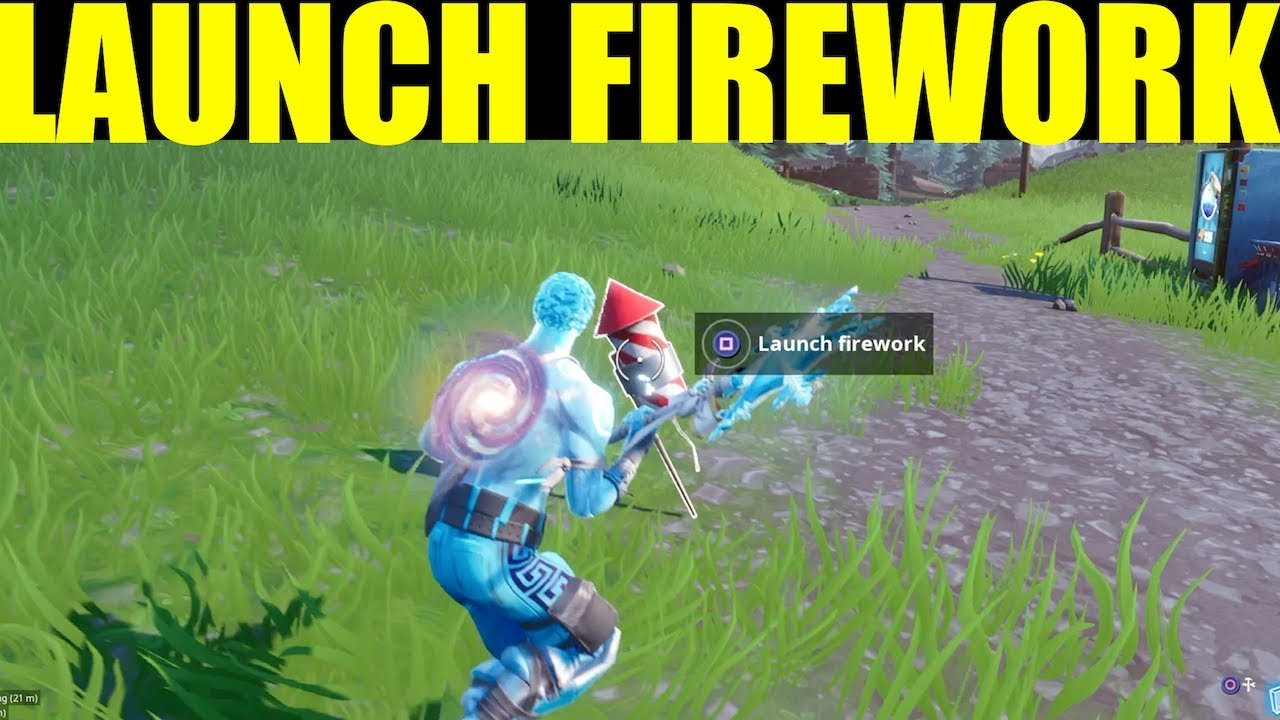 Launch Firework All 3 Locations Week 4 Challenge Guide Season 7
