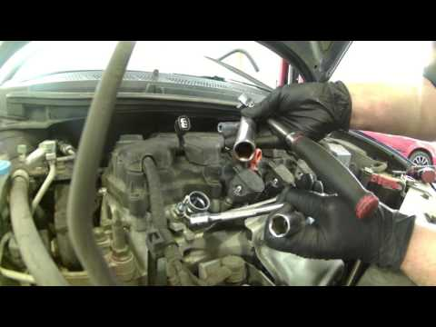 Spark plug replacement 2011 Honda Civic 1.8L 2006-2011 tune How to change plugs