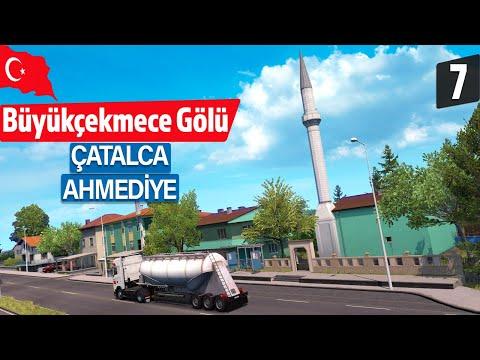 İSTANBUL, ÇATALCA ve BÜYÜKÇEKMECE GÖLÜ! Türkiye&Trakya DLC - ETS 2 Road to the Black Sea 7. Bölüm