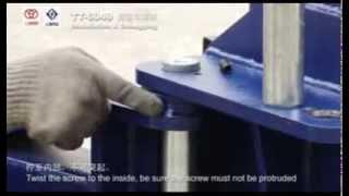 LAUNCH S45-2E двухстоечный подъемник(Двухстоечный гидравлический подъемник чистый пол LAUNCH S45-2E Заказать оборудование для автосервиса и шиномон..., 2013-08-21T06:07:57.000Z)